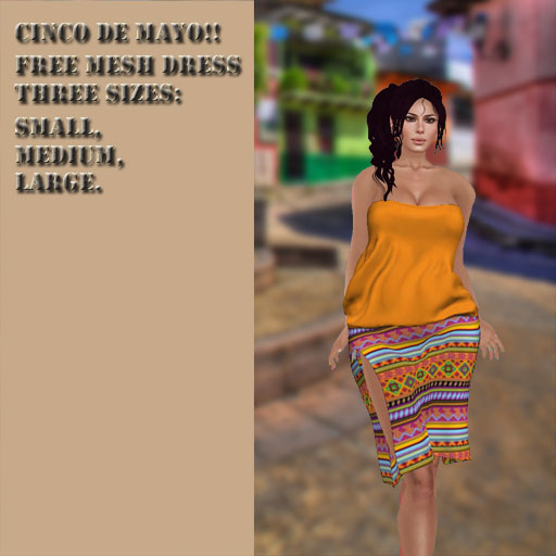 Cinco De Mayo Dress