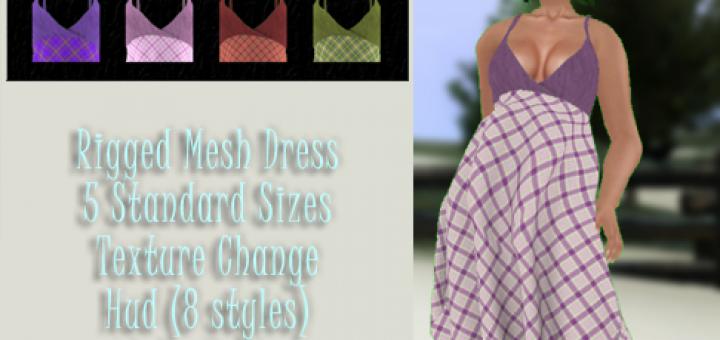 Hanky Dress - Plaids